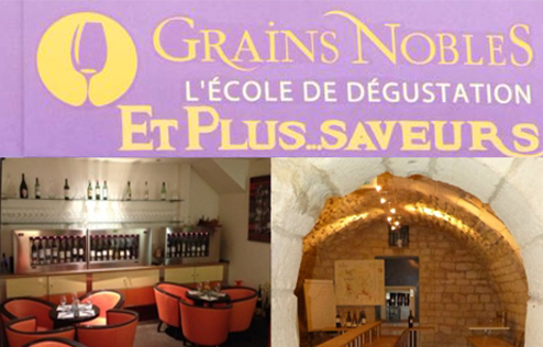 Grains Nobles Ecole de degustation de vins